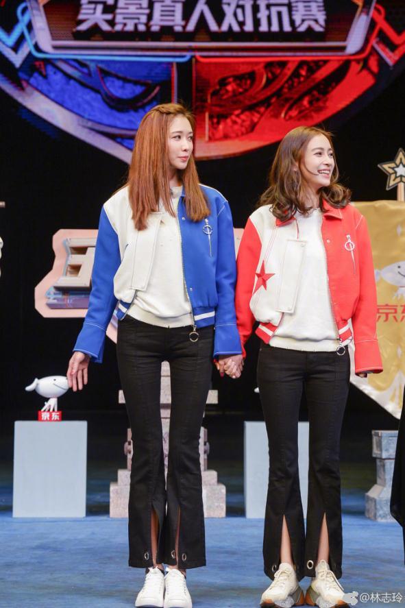 林志玲与Angelababy同框美出天际 baby身高却遭质疑