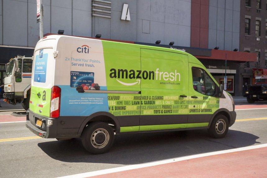 137亿美元收购全食超市后 亚马逊生鲜业务营收增长35%