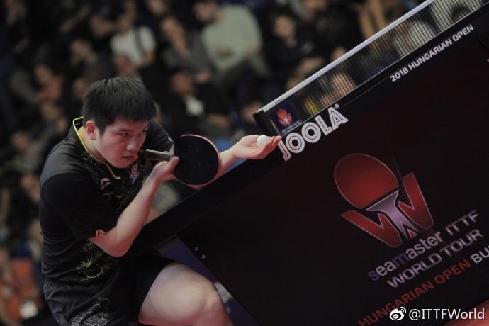 国乒豪夺5冠创一世界记录 双子星15分钟横扫太暴力