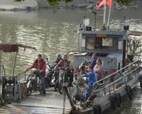 广州番禺百年横水渡说停就停了 愁煞两岸客