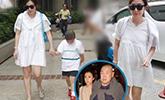 38岁甘比为刘銮雄诞下第三胎女儿 6.3斤母女平安