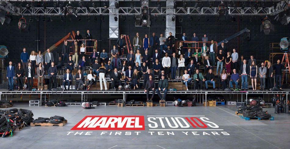 漫威电影宇宙10年 超级英雄大合照圆了你的同框梦!