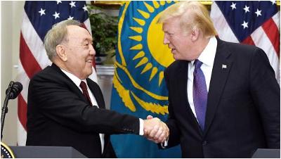 哈萨克斯坦在美国签下20份大单 外媒:多亏了中国