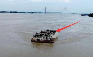 长江上的寺庙800年来水淹无数次,如今竟成了这样(图)