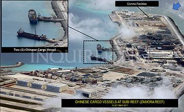南沙7座岛礁建设将完工 改天换地气势磅礴