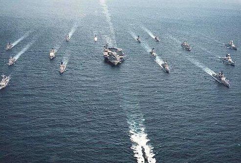 美第七舰队司令放言:将抗衡中国过度的主权主张!
