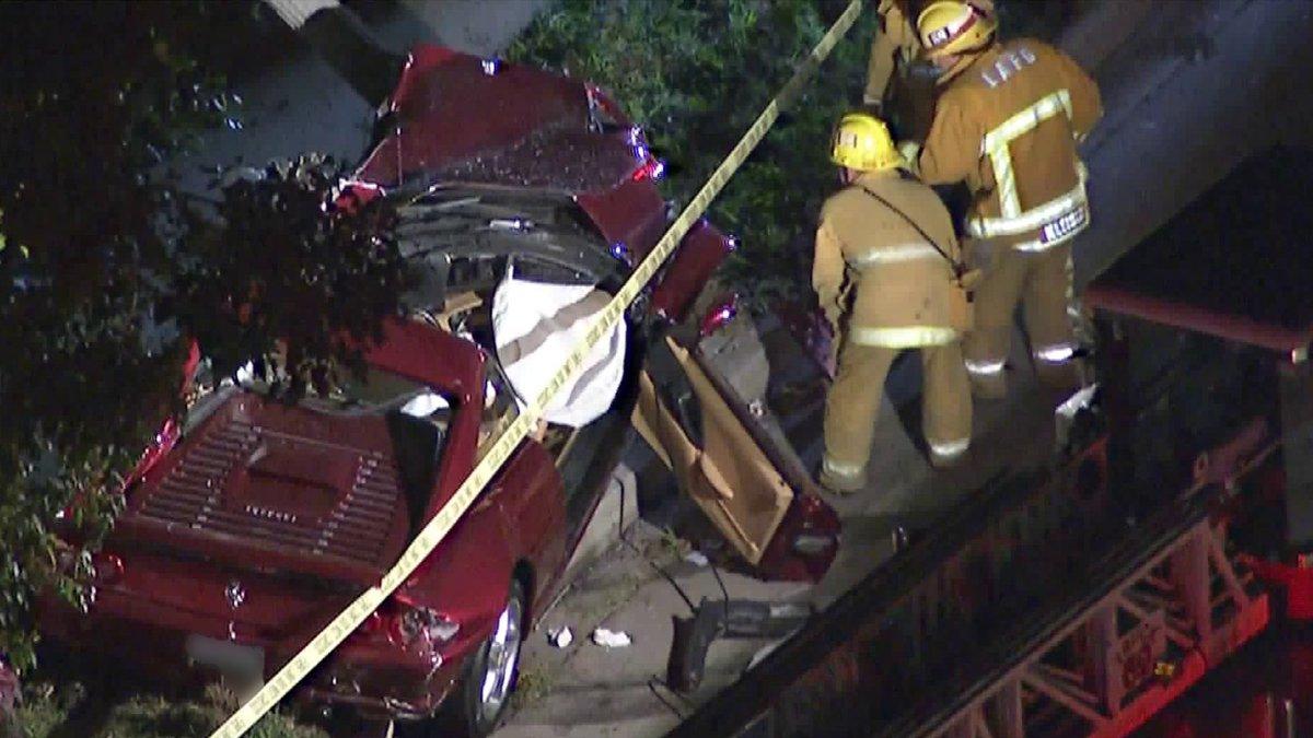 比尔哈斯坐法拉利遭遇严重车祸 司机当场死亡
