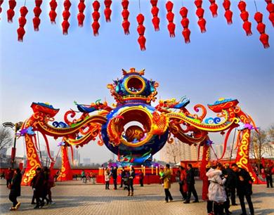 """""""西安年最中国""""浓浓年味儿获赞"""