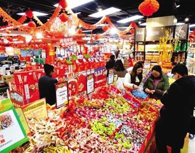 春节期间西安市场价格平稳