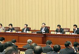 张德江主持人大常委会第33次会议