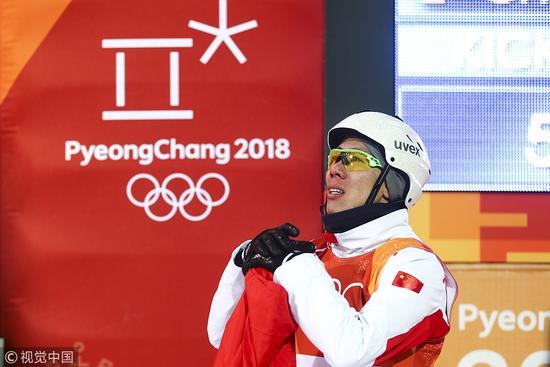 贾宗洋:很遗憾错失金牌 希望在北京冬奥能圆梦