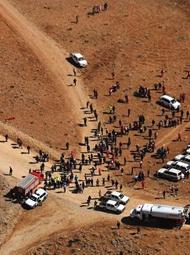 载66人失事客机残骸在伊朗被发现