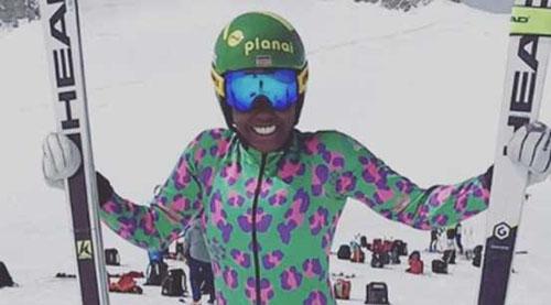 肯尼亚首位女子冬奥选手 自筹资金实现奥运梦想