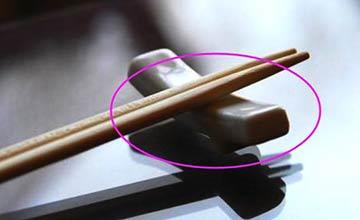 家里筷子万万别犯这些禁忌