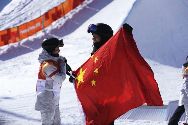 刘佳宇摘银创历史 单板滑雪中国雪上项目发展样板