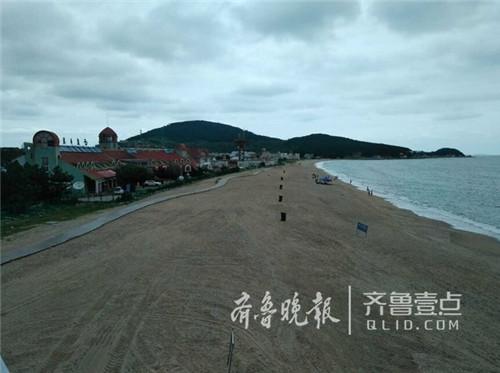 崂山仰口沙滩改造升级 青岛再添一海水浴场
