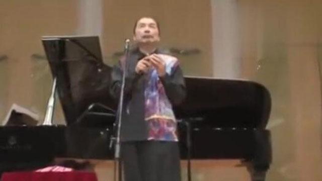 日本陶笛大师宗次郎现场演奏《故乡的原风景》