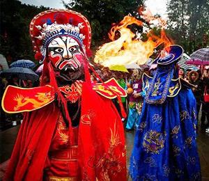 非遗级庙会4月开幕 丰都建国家级旅游区提速