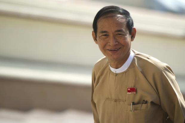 """溫敏坐上緬甸總統寶座 只是昂山素季的""""提線木偶""""?"""