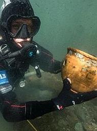 南美洲湖底的重大考古发现