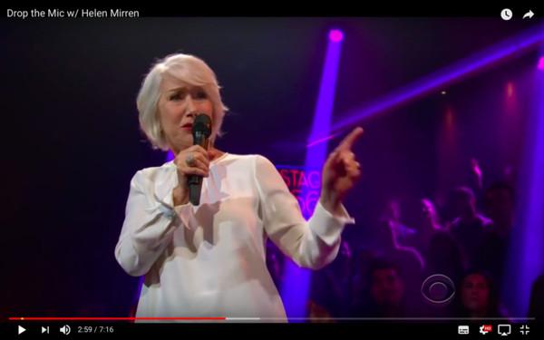 海伦米兰大秀饶舌diss主持人:你唯一角色是跪着求我