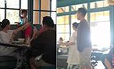 大S挺肚现身越南被拍 一家四口餐厅进食画面温馨
