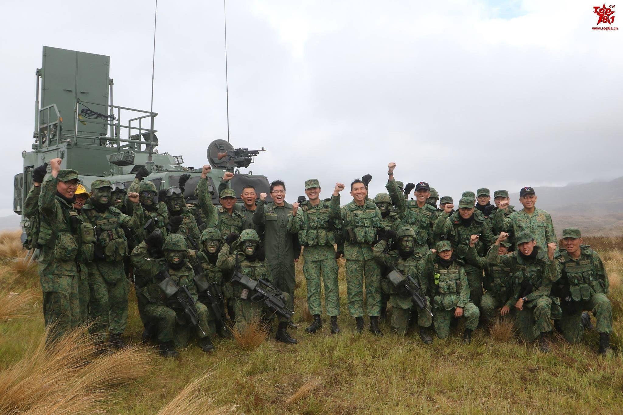 """大陆台海实弹军演之际 台军拉新加坡""""星光部队""""对抗"""