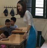 越南女神级小学老师