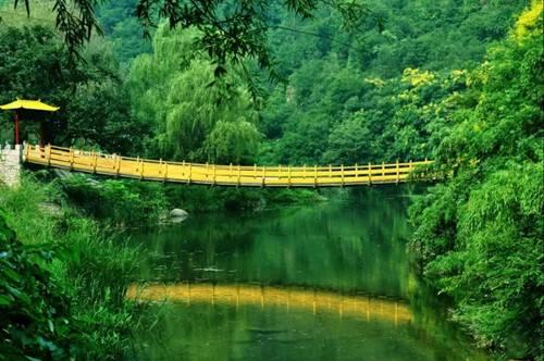 五一小长假到洛阳神灵寨风景区养眼、养生、养胃