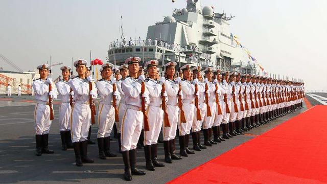 海军成立69周年 披荆斩棘驶向深蓝