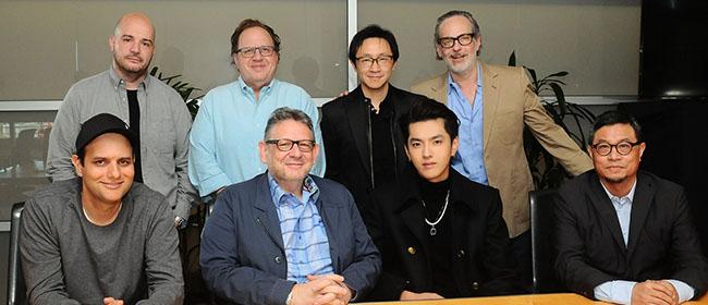 环球音乐集团签约全能创作型音乐人、制作人吴亦凡