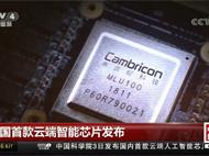 """中国首款云端人工智能芯片 寒武纪MLU100发布"""""""