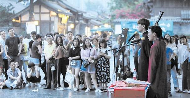 """街头艺人:让蓉城更多""""艺""""彩"""
