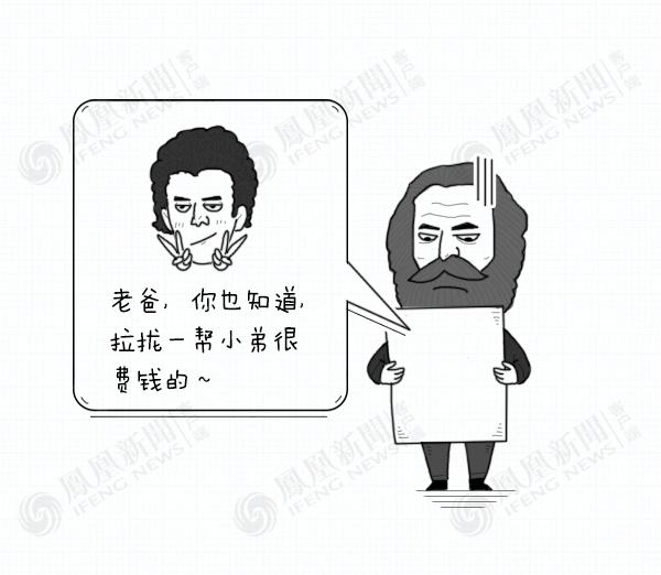 大鱼大叔:马克思漫画,了解一下的黄图看漫画快图片