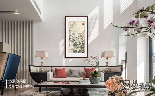 客厅沙发墙挂画的尺寸的基本原则,get起来装修时候参考!