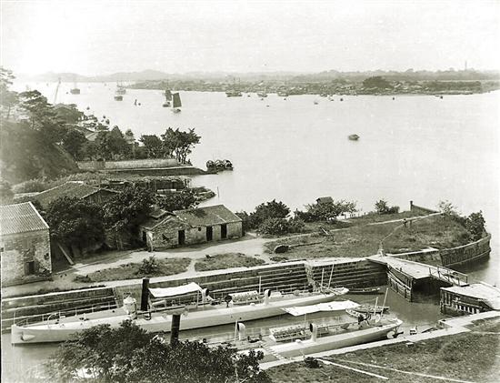 """中国最早的""""外资企业""""见证广东百年海上军工"""