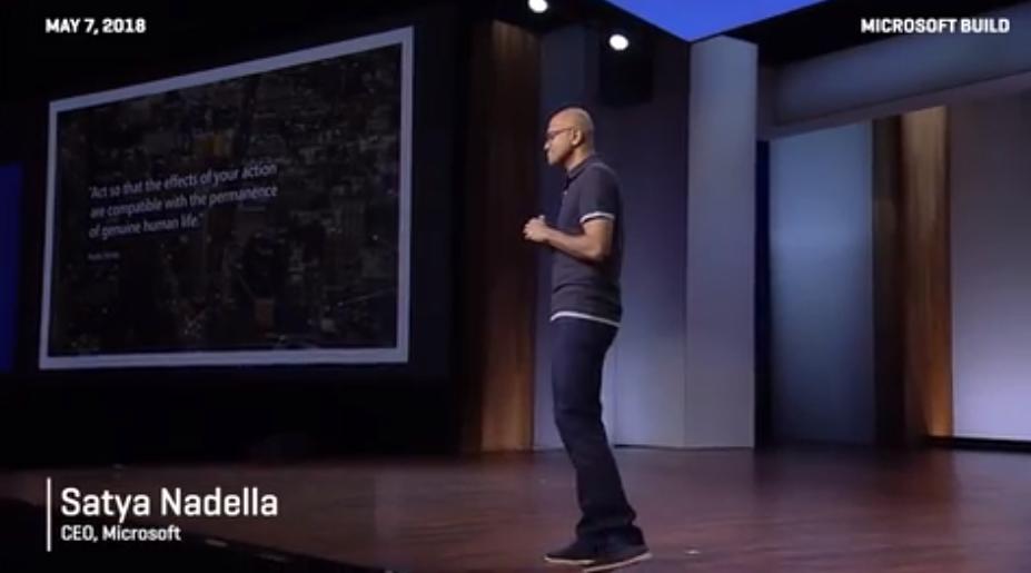 Build大会开幕 纳德拉四大重点指明微软发展方向