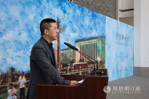 """""""聚焦新时代——中国油画名家邀请展""""在苏州美术馆开幕"""