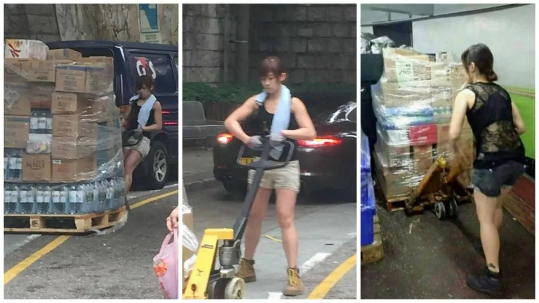 香港最性感女搬运工背后的故事