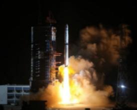 嫦娥四号中继星发射