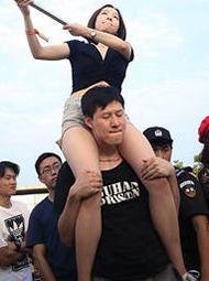 武汉音乐节一幕