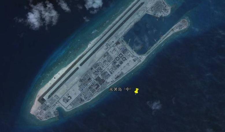 同时,未来中国航母战斗群从永暑岛开拔,可轻易的穿过第一岛链毕竟第二岛链海域。