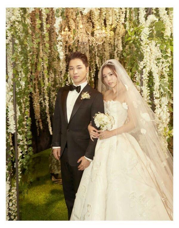 网友偶遇Bigbang太阳闵孝琳约会