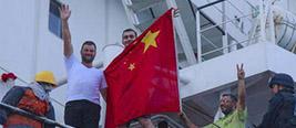 这艘外国舰船遇到麻烦时挂上了中国国旗 竟然转危为安!