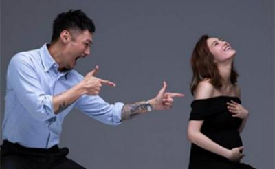 余文乐太太晒孕肚写真 夫妻二人携手出镜幸福感爆棚