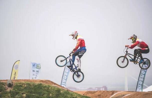 2018年中国BMX自行车联赛第四站在敖汉旗成功举办