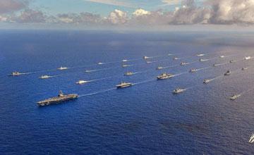 """美军放话要派军舰穿台湾海峡 目的何在?"""" width="""