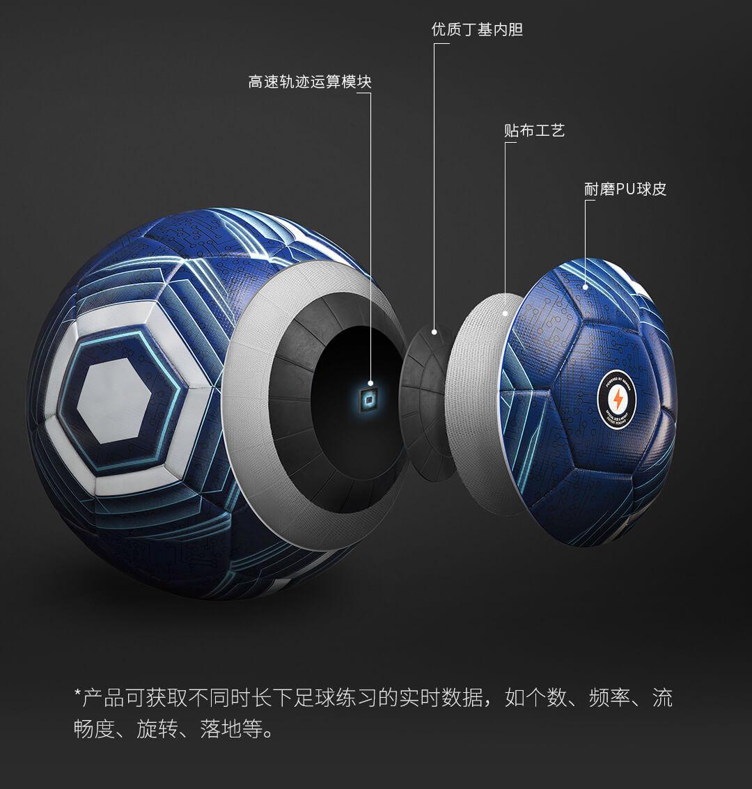 这颗足球有点厉害!小米有品众筹上架茵战智能足球
