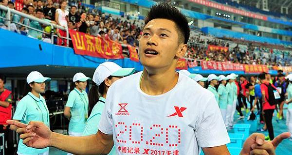 帅气!9秒97刷新黄种人百米纪录 圈粉中国小伙谢震业