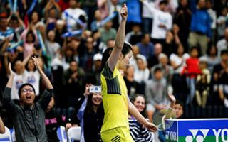 李雪芮获2018美国羽毛球公开赛女单冠军